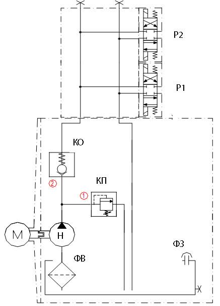 электрическая схема п-97мк